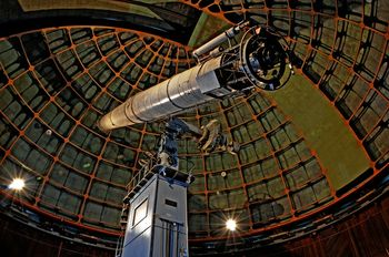 The Great Refractor, Lick Observatory by Allen Hughes