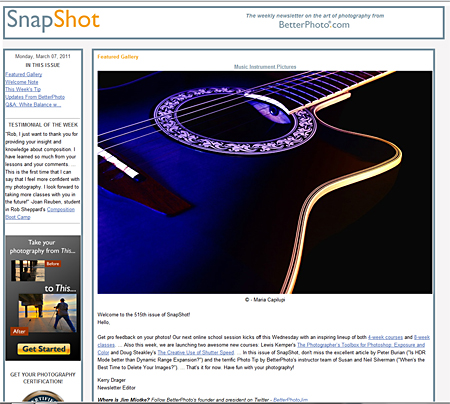 SnapShot_Free_Photo_Newsletter