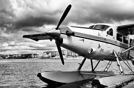 Deborah-Sandidge-Seaplane-Black-and-White