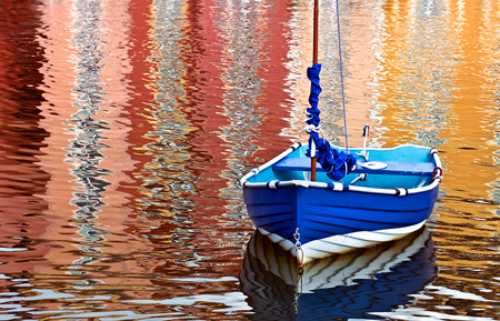 Boat_water_reflections_Deborah_Sandidge
