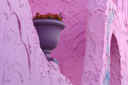 3-Pink_Wall_Pot_Kerry_Drager