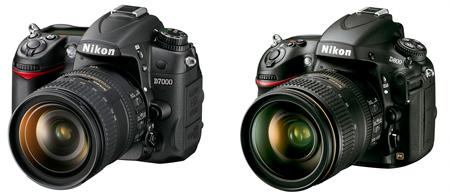 Z Nikon D800 D7000