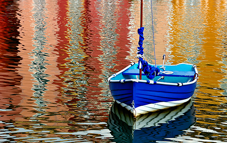 Boat_and_reflections_Deb_Sandidge
