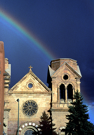 StFrancisCathedral&Rainbow